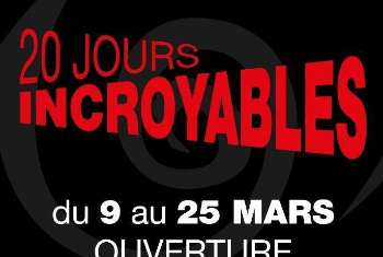 20 JOURS INCROYABLES !!!